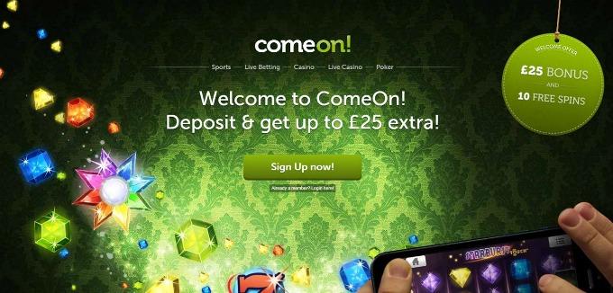 Which Casino Comeon Latest Bonuses Are Here